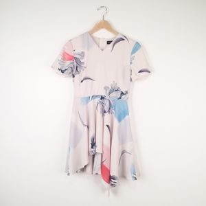 StyleStalker White Floral Mini Dress
